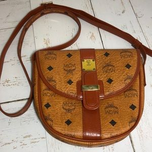 "Vintage MCM Crossbody, ""Patricia"" Collection"